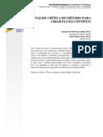 Analise Critica do Método para Criar Fluxo Continuo