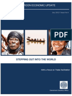 Cameroon Economic Update No.4, July2012