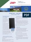 SunFields Specification NAF121-128-135GK ES