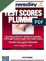 Test Scores Plummet
