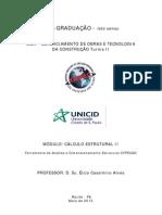 CÁLCULO ESTRUTURAL II - Apostila Cype CAD