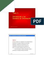 Tema1 - Introducción a los sistemas de información