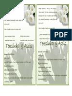 Convite Casamento Oficial
