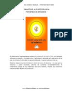 FUNDACIÓN EL AMANECER DEL ALMA PORTAFOLIO DE SERVICIOS