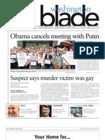 Washingtonblade.com - Volume 44, Issue 32 - August 9, 2013