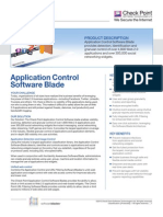 Application Control Data Sheet