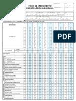 Ficha Individual Odontologico - E-SUS