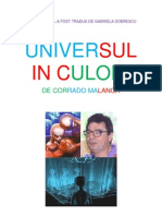 CORRADO MALANGA - UNIVERSUL IN CULORI