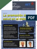 Enfermería del Trabajo, volumen 3, número 3, 2013