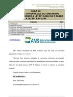 Saude e Legislacao Especifica Para Ans Todos Os Cargos Aula 02 Aula 02 23773