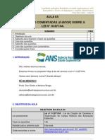 Legislacao Aplicada a Regulacao Em Saude Suplementar p Ans Especialista Analista e Tecnico Em Regulacao Aula 03 Aula 03 23774