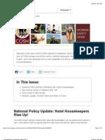 COSH Network E-newsletter