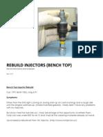 Injector Rebuild