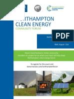 13-08-21 Northampton Clean Energy Forum