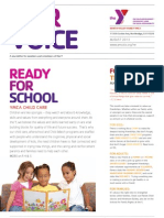 August 2013 Our Voice Newsletter