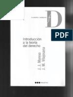 Introducción a la teoría del Derecho - Moreso - Vilajosana0001