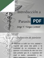01 Introduccion a La Parasitologia