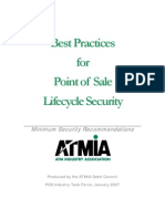 Best Practices for Point of Sale Security - Published Version 1