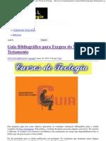 Guia Bibliográfico para Exegese do Novo Testamento _ Portal da Teologia.pdf