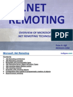 Overview of Microsoft .Net Remoting technology