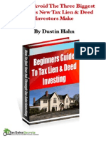Beginners Guide to Liens Deeds