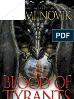 BLOOD OF TYRANTS by Naomi Novik, Excerpt