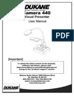 Camera 440 User Guide