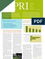 CJPRI 2012-2013 Newsletter