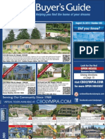 Coldwell Banker Olympia Real Estate Buyers Guide August 10th 2013
