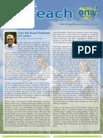 Summer 2013 Outreach Newsletter