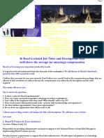16 Basel II Related Job Titles and Descriptions