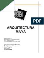 Programa Arquitectura Maya 2014-1 FINAL