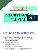 Precipitación pluvial PP