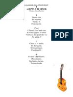 Letras de Los Cantos Nuevos