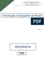 1- Introdução à Geografia do Brasil - PCN