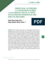 Evolucionismo en Colombia Por Leyes de La Eugenesia de Linea Blanda y Dura