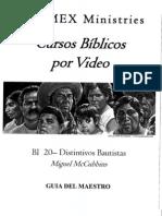 BI 20 - Distintivos Bautistas - M