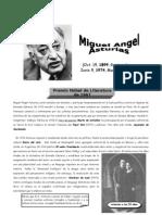 IV BIM - LIT - 4TO AÑO - Guia 1 - Miguel Angel Asturias