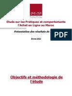 Etude E-commerce Au Maroc 2012 Par Lms-Csa