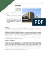 Wikipedia - Escuela de La Bauhaus
