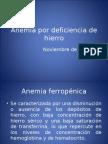 Anemia Por Deficiencia de Hierro -> FuturaMédica