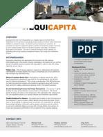 Equicapita - Advisor Brochure