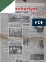 30 Kasım 1929 - Galatasaray  2  - 3 Fenerbahçe