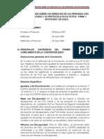 Convencion Sobre Los Derechos de Las Personas Con Discapacidad y Su Protocolo Facultativo