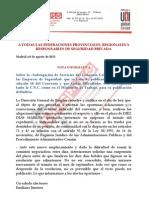 Nota y Comunicacion de Subsanacion Empleo