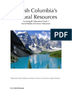 Canadian Natural Resources Unit Study Guide
