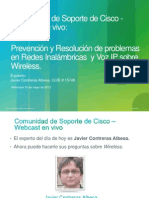 94143682 Prevencion y Resolucion de Problemas en Redes Inalambricas y Voz IP Sobre Wireless