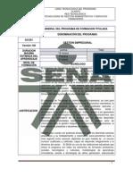 Programa de Formacion 621201 - Tg - Gestion Empresarial