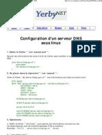 Roger YERBANGA _ Configuration d'Un Serveur DNS