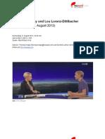"""""""Natürlich ist Basisdemokratie schwierig"""" - Interview-Transkript zu Christopher Clay und Lou Lorenz-Dittlbacher"""
